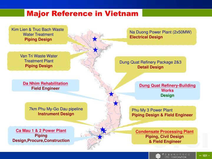 Major Reference in Vietnam