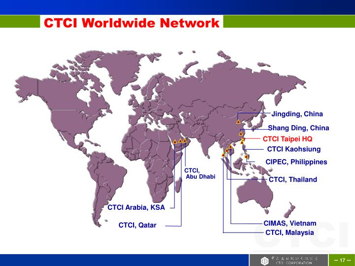 CTCI Worldwide Network