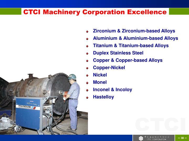 Zirconium & Zirconium-based Alloys