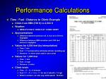 performance calculations2