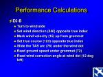 performance calculations4