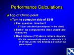 performance calculations5