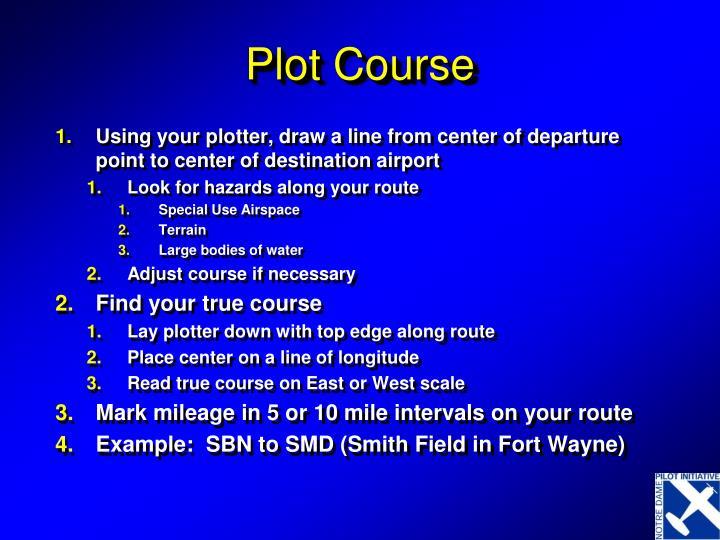 Plot Course