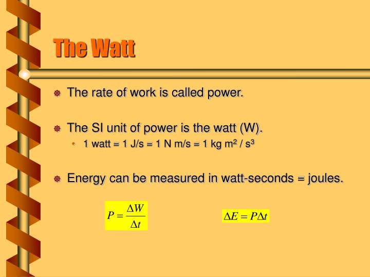 The Watt
