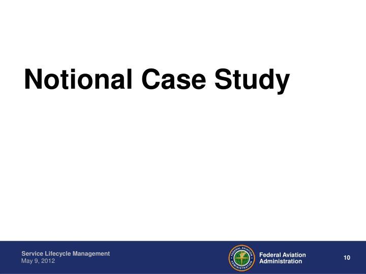 Notional Case Study