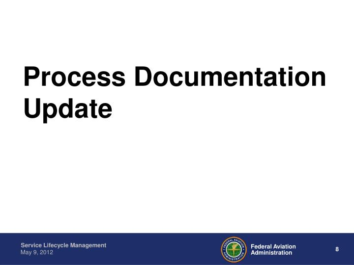 Process Documentation Update
