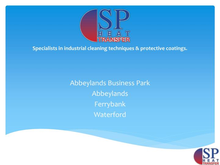 Abbeylands business park abbeylands ferrybank waterford