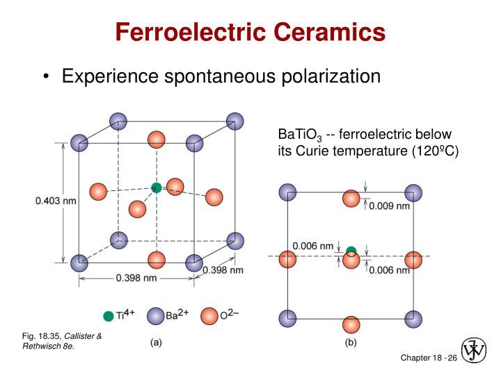 Ferroelectric Ceramics