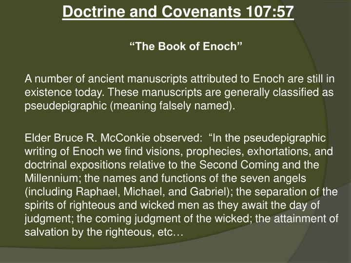 Doctrine and Covenants 107:57