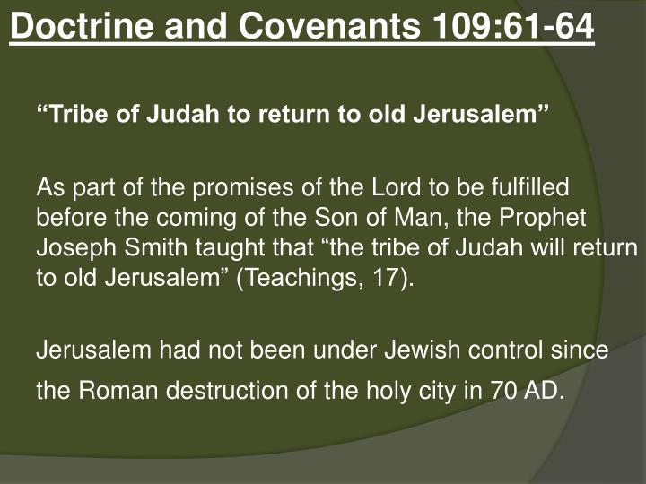 Doctrine and Covenants 109:61-64
