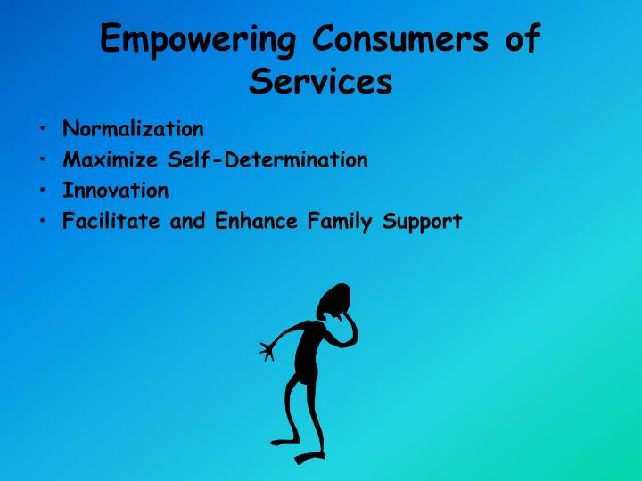 Empowering Consumers of Services