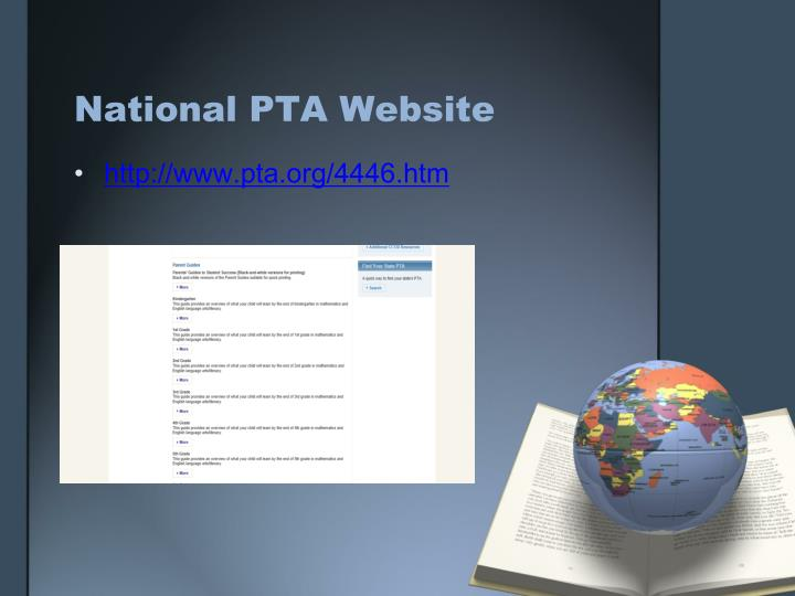 National PTA Website