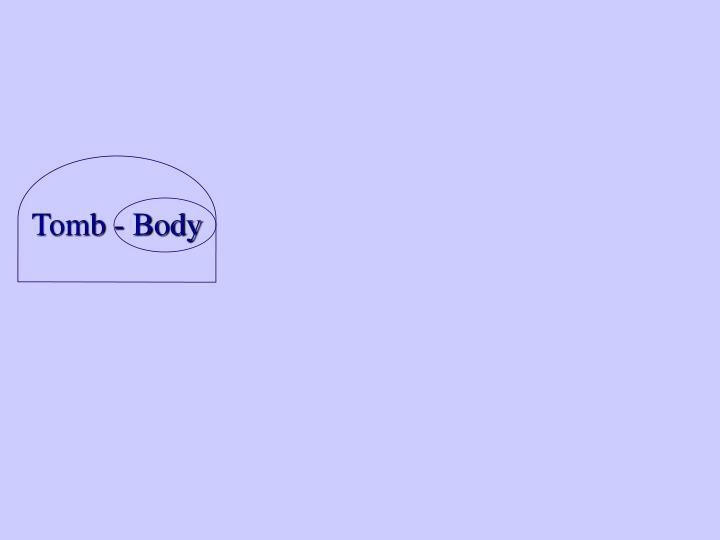Tomb - Body
