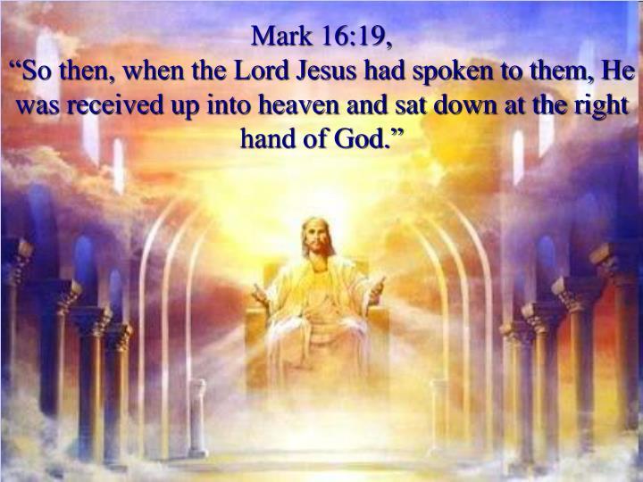 Mark 16:19,
