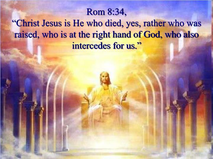 Rom 8:34,