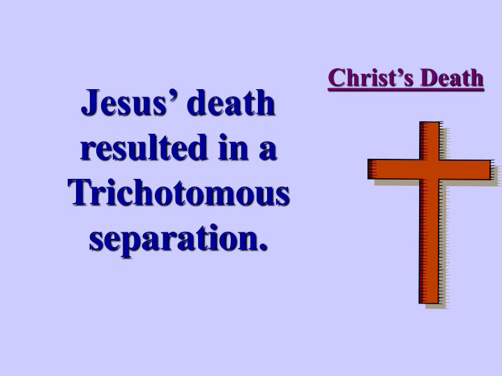 Christ's Death