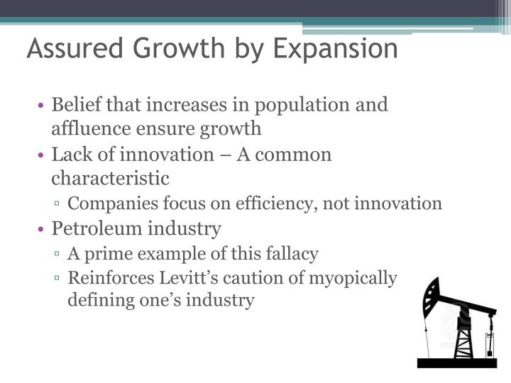 Assured Growth by Expansion