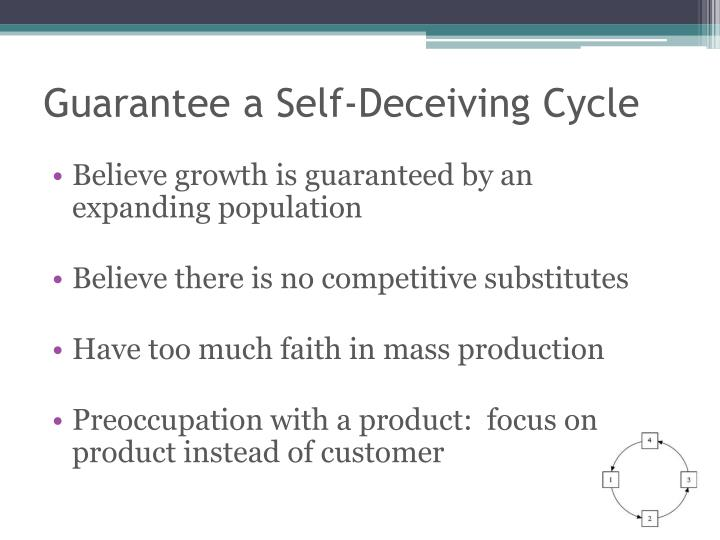 Guarantee a Self-Deceiving Cycle