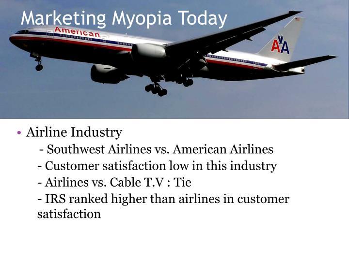 Marketing Myopia Today