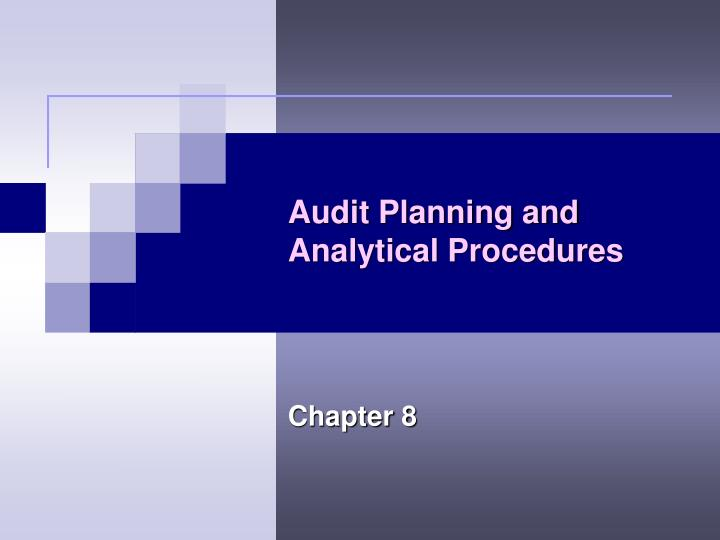 Audit Planning and