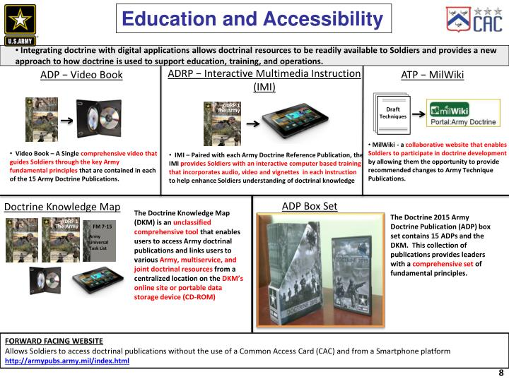 Education and Accessibility
