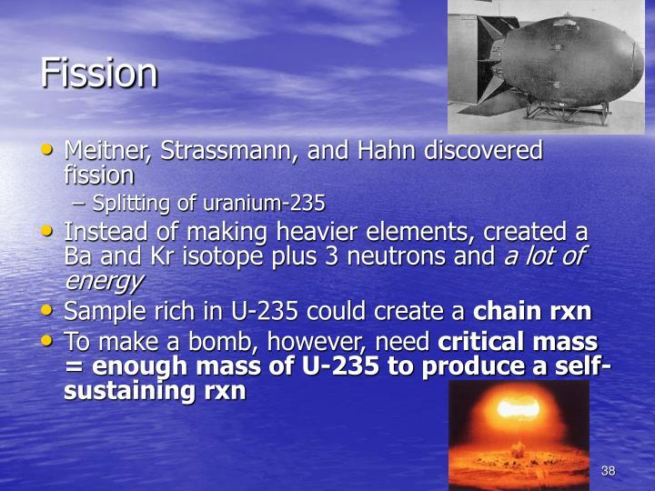 Fission