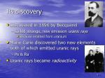 its discovery