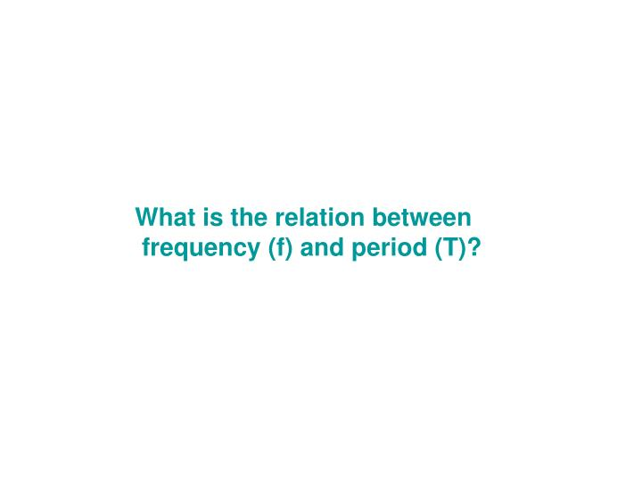 What is the relation between