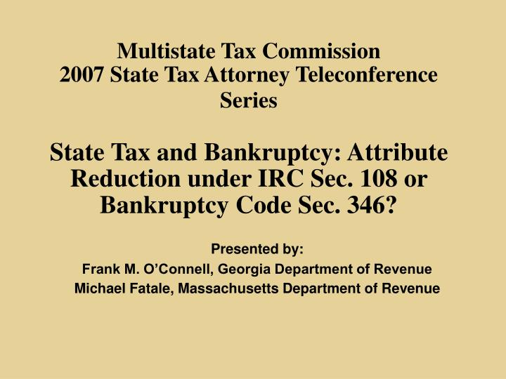 Multistate Tax Commission