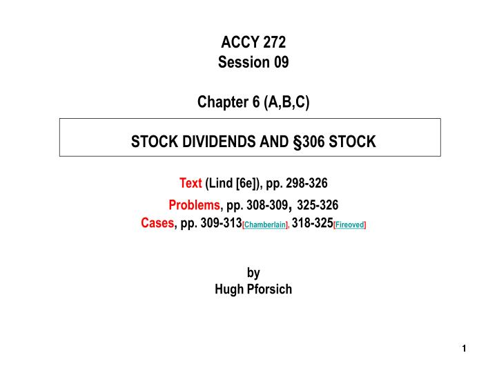 ACCY 272