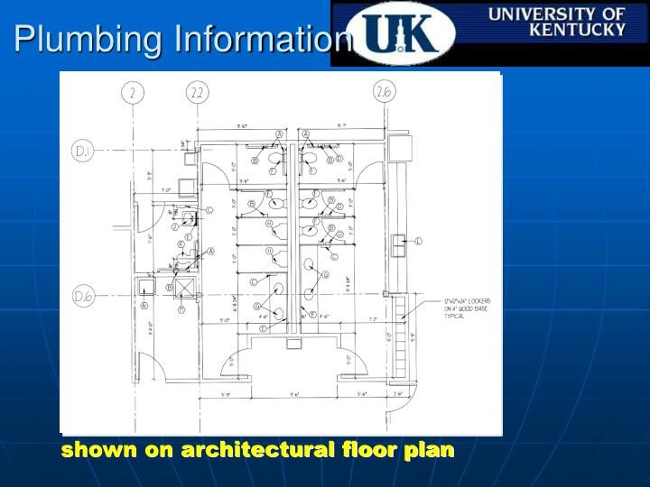 Plumbing Information