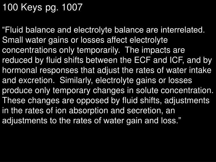 100 Keyspg. 1007