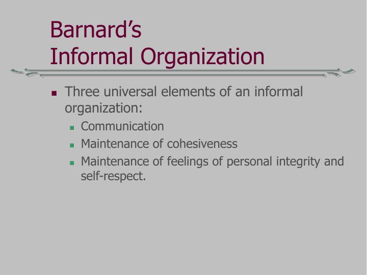 Barnard's