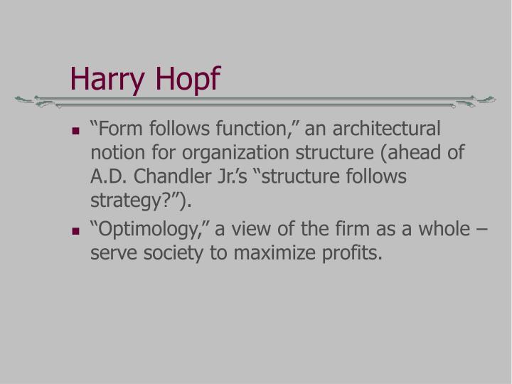 Harry Hopf