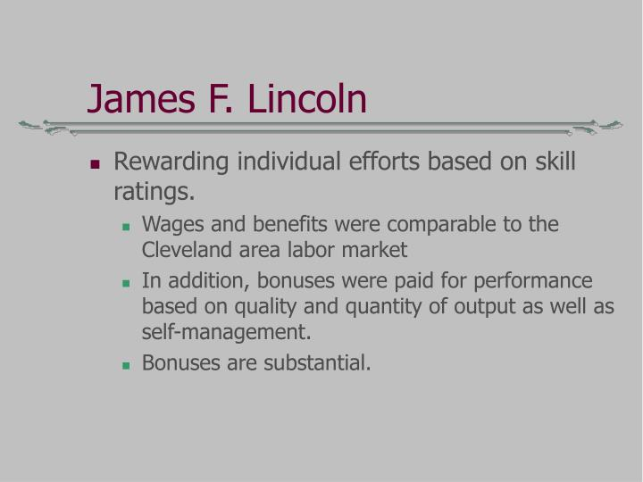 James F. Lincoln