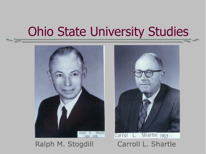 Ohio State University Studies