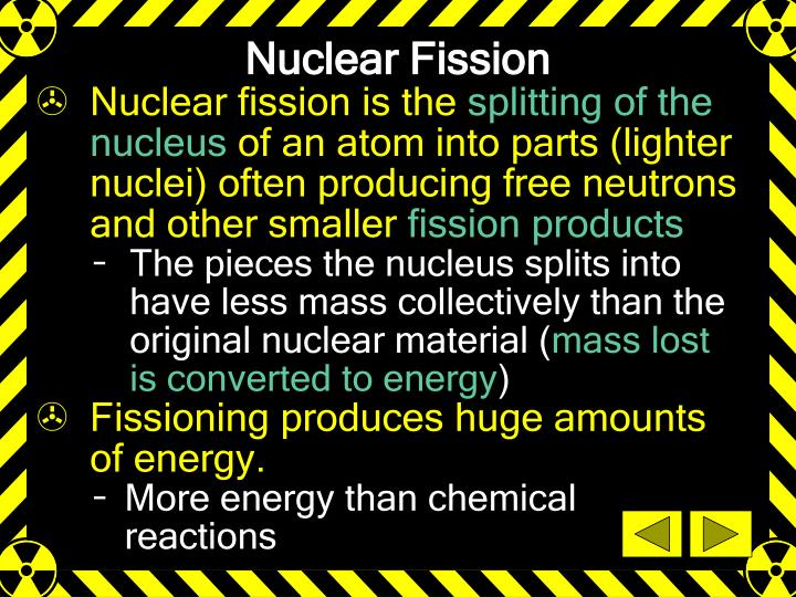 Nuclear Fission