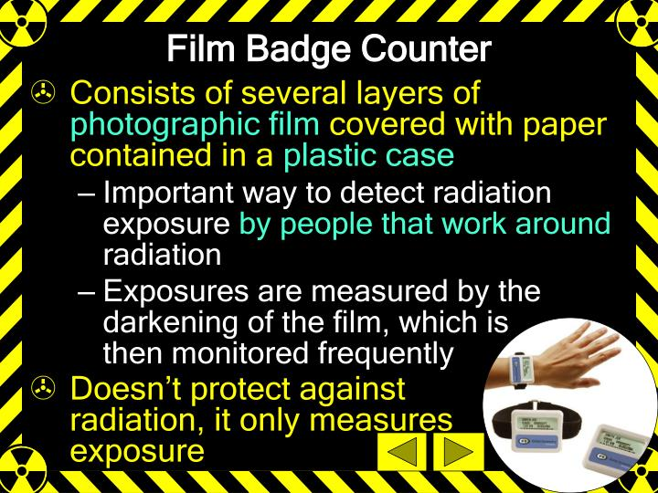 Film Badge Counter