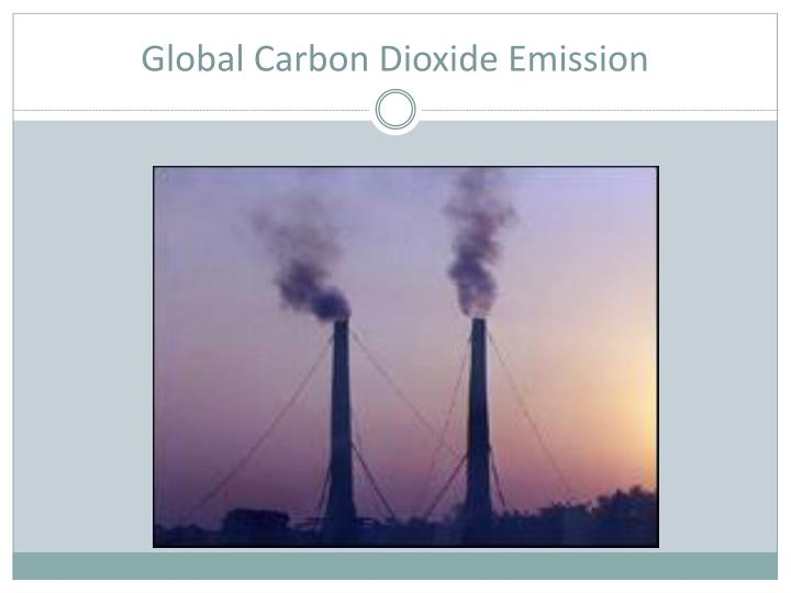 Global Carbon Dioxide Emission
