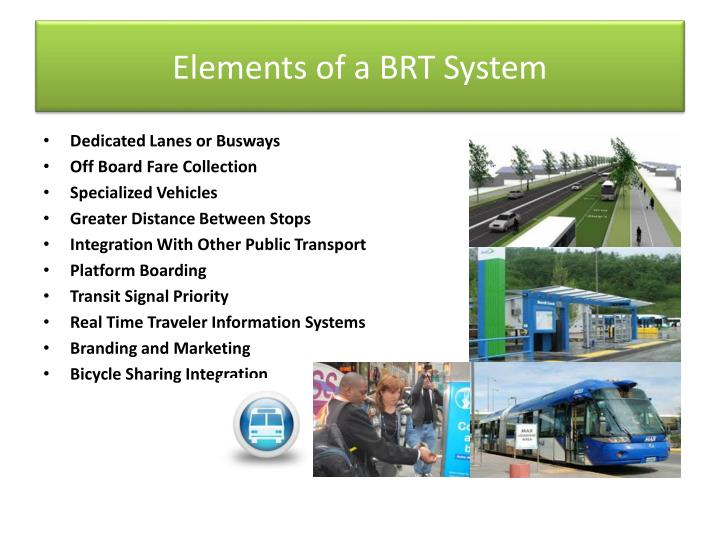 Elements of a BRT System