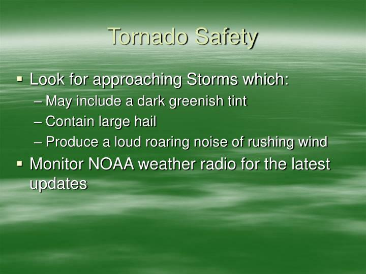 ppt - storm safety powerpoint presentation