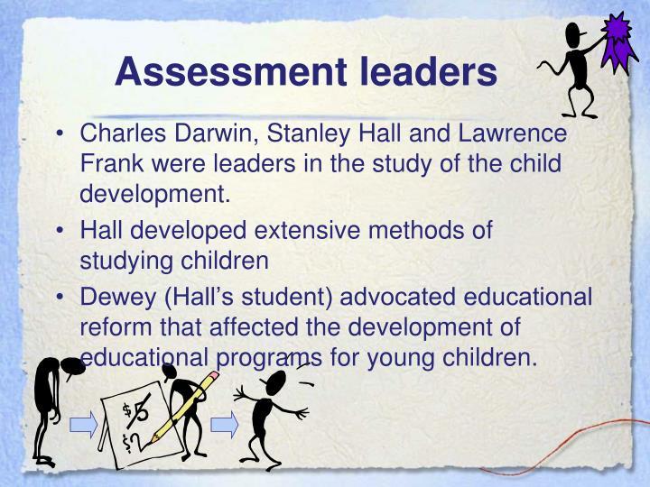 Assessment leaders