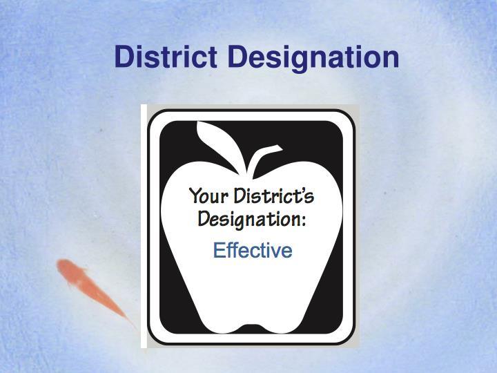 District Designation