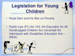 legislation for young children1