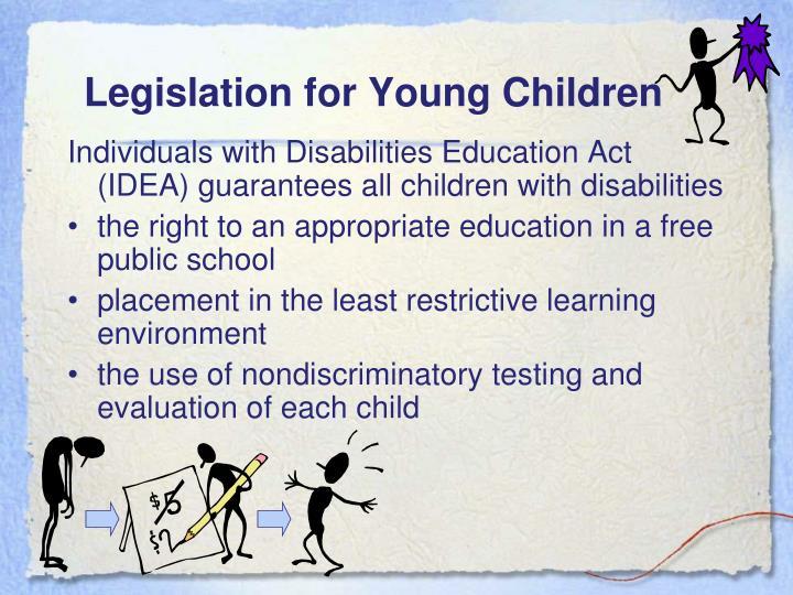 Legislation for Young Children