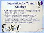 legislation for young children4