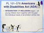 pl 101 576 americans with disabilities act ada1