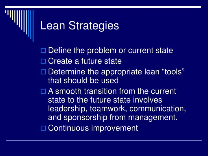 Lean Strategies