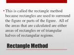 rectangle method