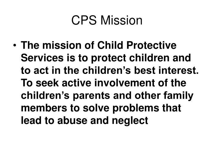 CPS Mission